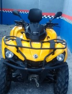 CUATRIMONTO UTILITARIO-CAN-AM-OUTLANDER -450CC 2015